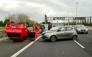 accidentes en cadena